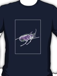 Beetle Mauve Green C T-Shirt