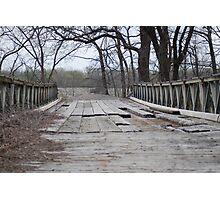Troubled Bridge Photographic Print
