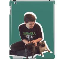 Dan and pewds pugs! iPad Case/Skin