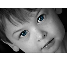 Eyes of Blue Photographic Print