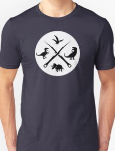 Hipster Dinosaurs Logo (black version) T-Shirt