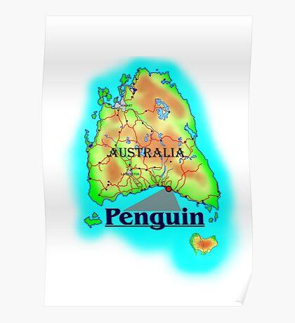Penguin - Tasmania Poster