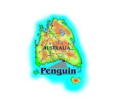 Penguin - Tasmania Photographic Print