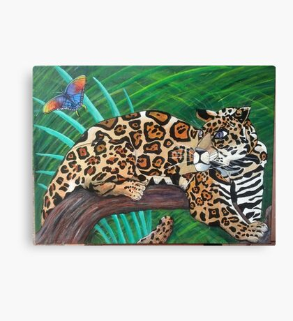 Peruvian Jaguar Canvas Print