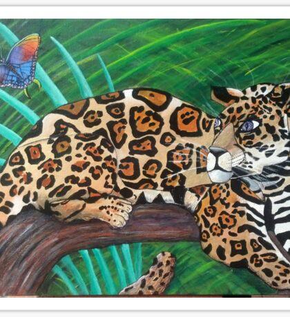 Peruvian Jaguar Sticker