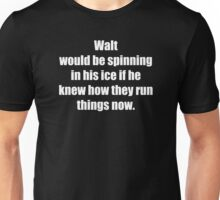 Spinning in His Ice Unisex T-Shirt