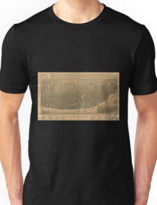 Panoramic Maps Port Huron Mich 1894 Unisex T-Shirt