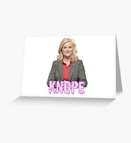 """Leslie """"Knope"""" Greeting Card"""