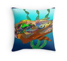 Fish - Plural Throw Pillow
