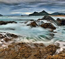 Tairua Storm Front by Ken Wright