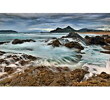 Tairua Storm Front Photographic Print