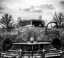 This old dark machine [B&W] by tjdewey