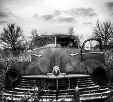 This old dark machine [B&W] by tjdewey