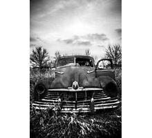 This old dark machine [B&W] Photographic Print