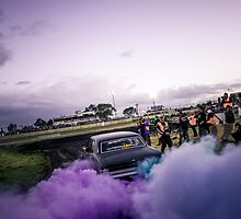 UCSMOKE Tread Cemetery Burnout by VORKAIMAGERY