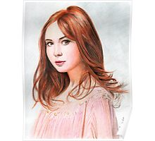 Amy Pond - Karen Gillan from Doctor Who saga Poster