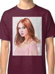 Amy Pond - Karen Gillan from Doctor Who saga Classic T-Shirt
