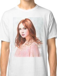 Amy Pond - Karen Gillan from Doctor Who saga Classic T-Shirt