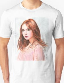 Amy Pond - Karen Gillan from Doctor Who saga T-Shirt