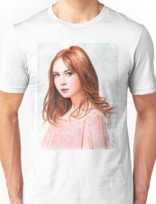 Amy Pond - Karen Gillan from Doctor Who saga Unisex T-Shirt