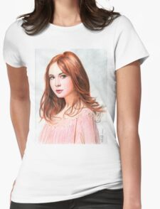 Amy Pond - Karen Gillan from Doctor Who saga Womens Fitted T-Shirt