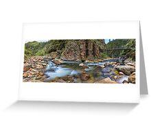 Karangahake Gorge Greeting Card