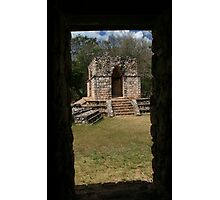 Mayan City of Ek' Balam Building Photographic Print