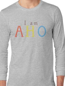 Yuru Yuri: I am AHO Long Sleeve T-Shirt