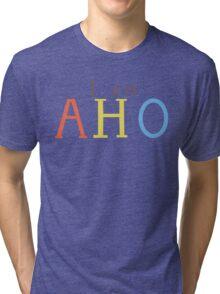 Yuru Yuri: I am AHO Tri-blend T-Shirt