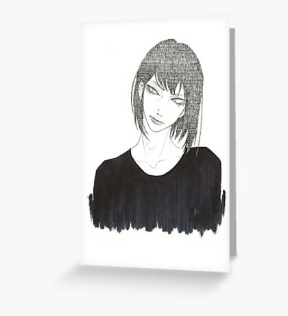 •Haku• Greeting Card