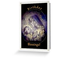 Birthday Blessings Greeting Card Greeting Card
