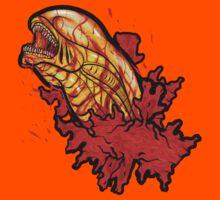 Chestbuster | The Xenomorph birth Kids Tee