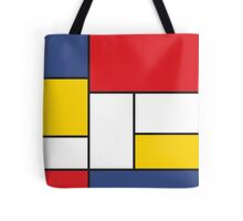 In the Style of Mondrian Tote Bag