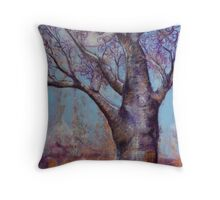Happy Blossoms Throw Pillow