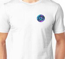 Galaxy themed peace sign Unisex T-Shirt