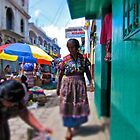 Market Day, Comalapa by PFRamirez
