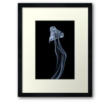 The Moon Jellyfish Framed Print