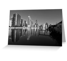 Brisbane River & City. Greeting Card