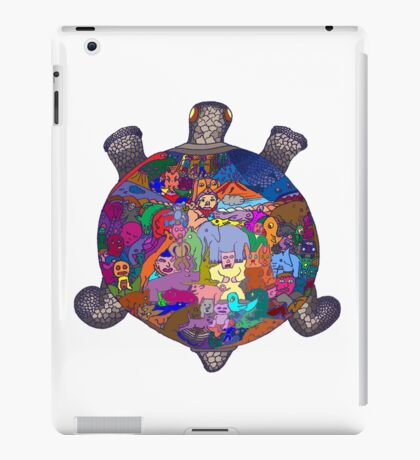 Turtle Tattoo iPad Case/Skin
