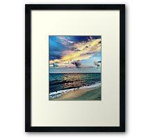 Canouan Island Beach Time Goodness Framed Print