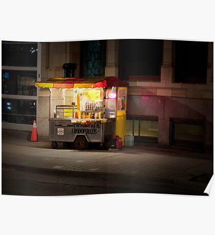 Hot Dogs On John Street Poster