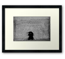 Asylum Behavior Framed Print