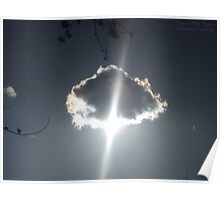 Glowing Cloud Poster