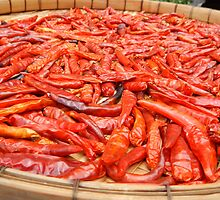 Sun-dried Thai Red Chillies by lizzieskinner