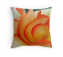 Begonia Curl/s Throw Pillow