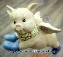 Wee pig by Valeria Lee