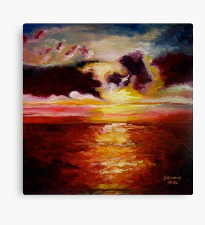 'Sunset 2' Canvas Print