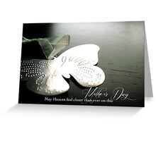 Mother's Day for a Bereaved Mother Greeting Card