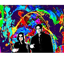 Scully & Mulder Photographic Print