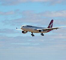Qantas airbus A330 VH-EBD by patrol1